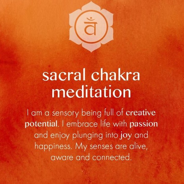 Chakra Activation Workshop Series – Day 9 – Sacral Chakra, Svadhisthana