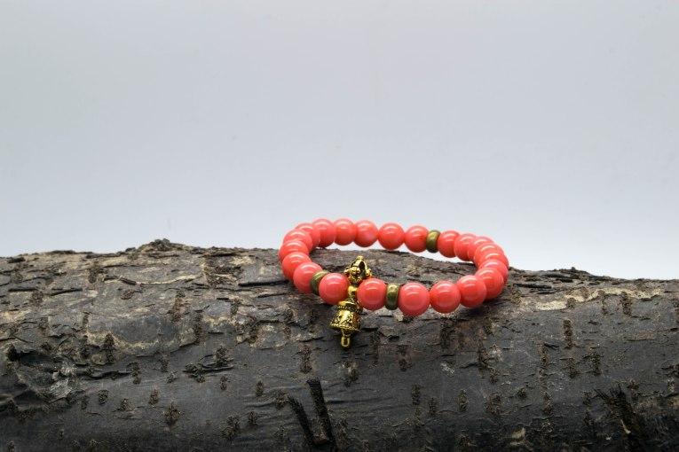 Sea Bamboo Tibetan Bell Bracelet 'Shanti Range' – Base and Sacral Chakras