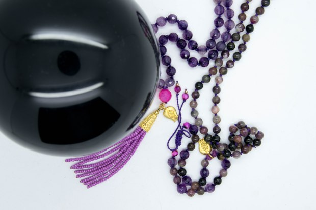 Pretty In Pink Mala Blessed Under The Sturgeon Full Moon
