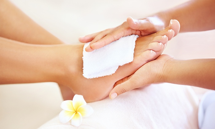 Free Bee Lovely foot treatment