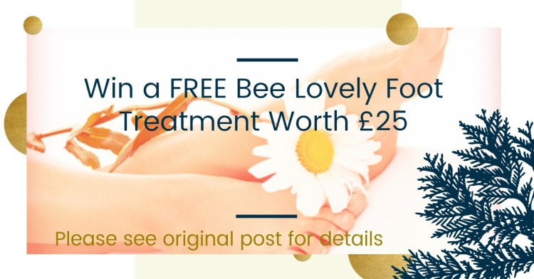Win a Bee Lovely Foot Treatment