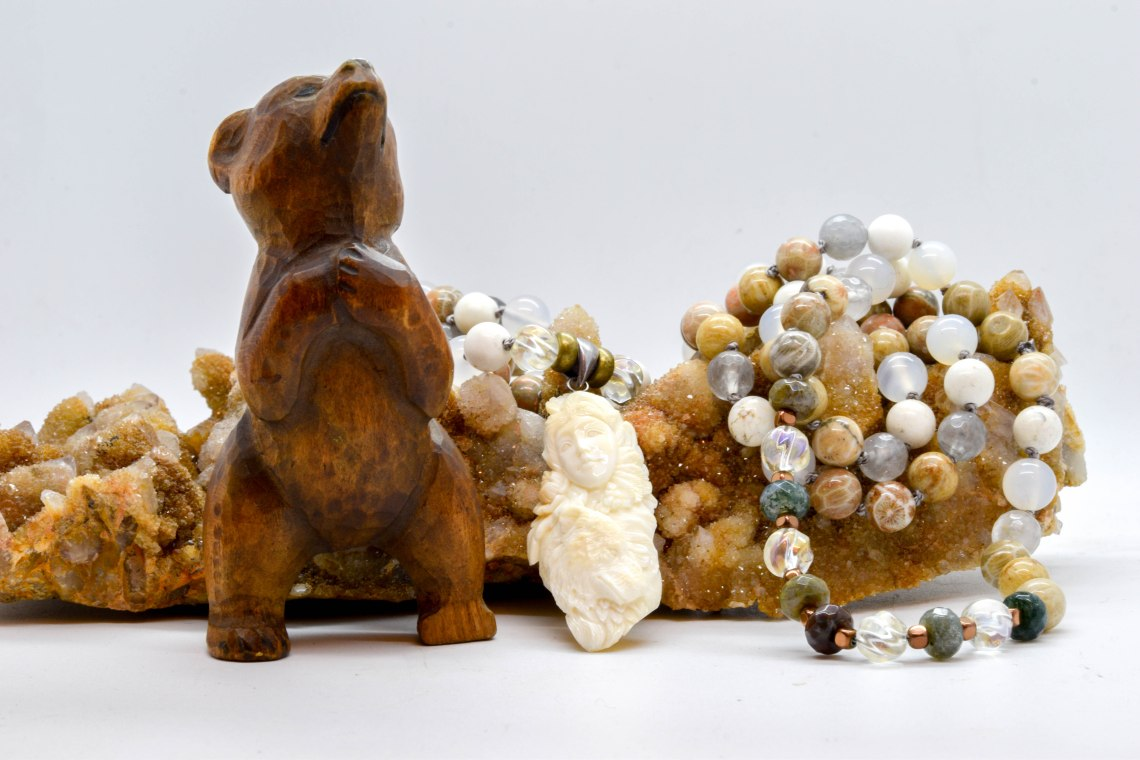 Bear Spirit Animal Mala