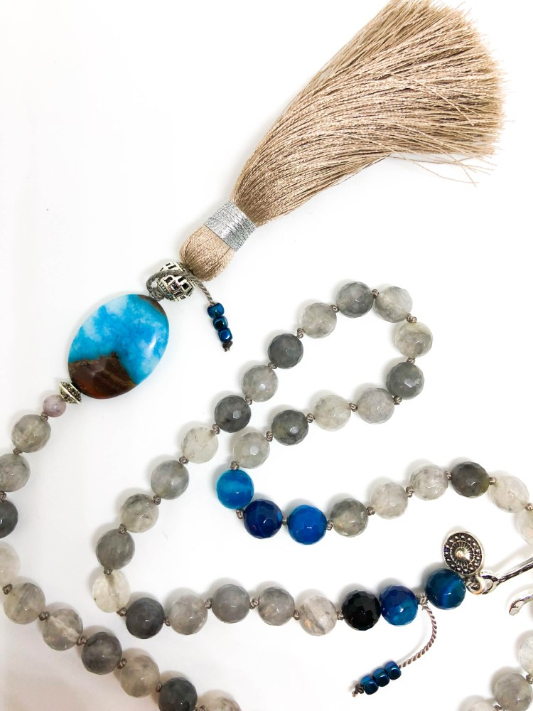 Wolf Moon meets Blue Moon Mala