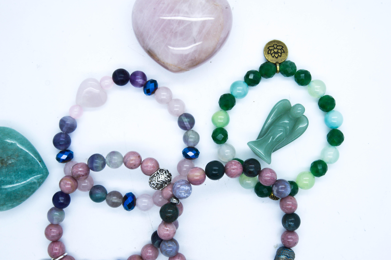 Maitri Range ~ Heart Chakra Bracelets