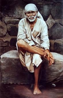Shirdi-Sai-Baba-on-stone-picture