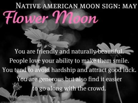 Flower Full Moon in Sagittarius