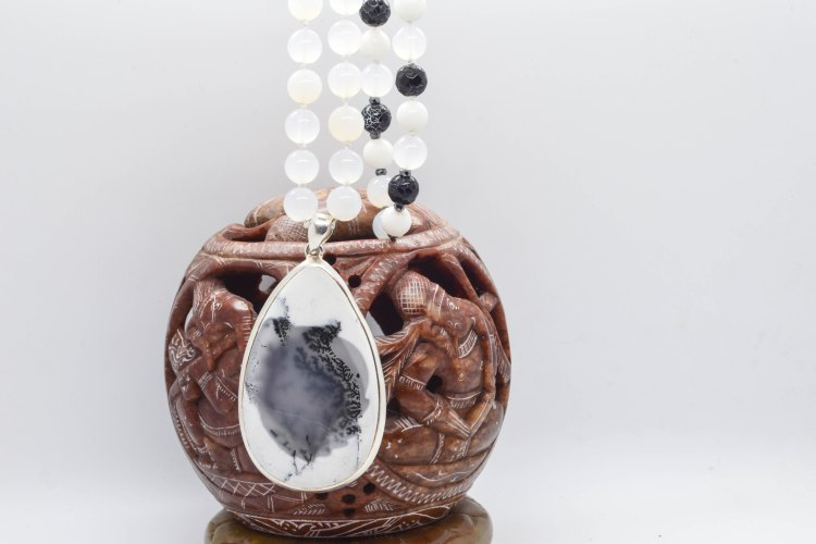 Merlinite Mala Of Magick