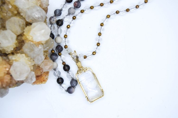 Beauty Of The Moon Necklace