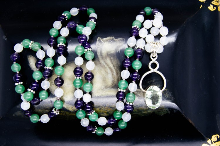 Prasiolite 108 Mala, Clearing The Way For Love